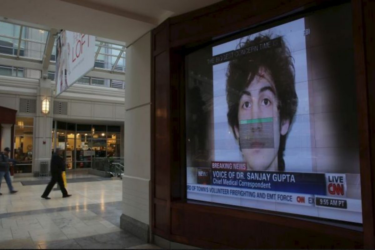 La sentencia formal para Tsarnaev se ha fijado para el 24 de junio a las 9:30 de la mañana hora local. Foto:Getty Images. Imagen Por: