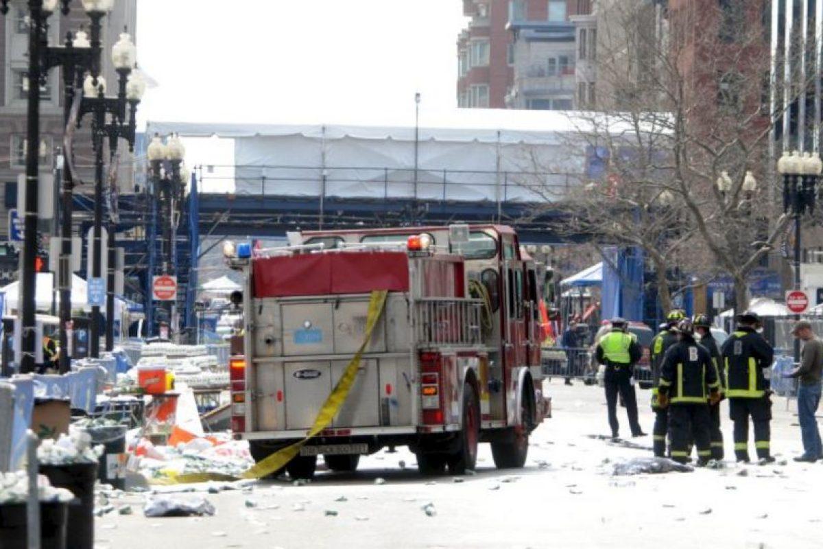 También falleció un policía en la detención de los hermanos Tsarnaev. Foto:Getty Images. Imagen Por: