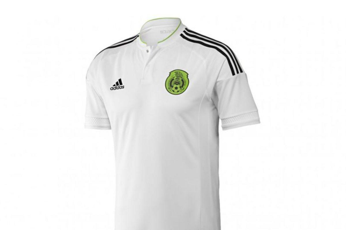 Y su uniforme de visitante será en blanco. Foto:Adidas. Imagen Por: