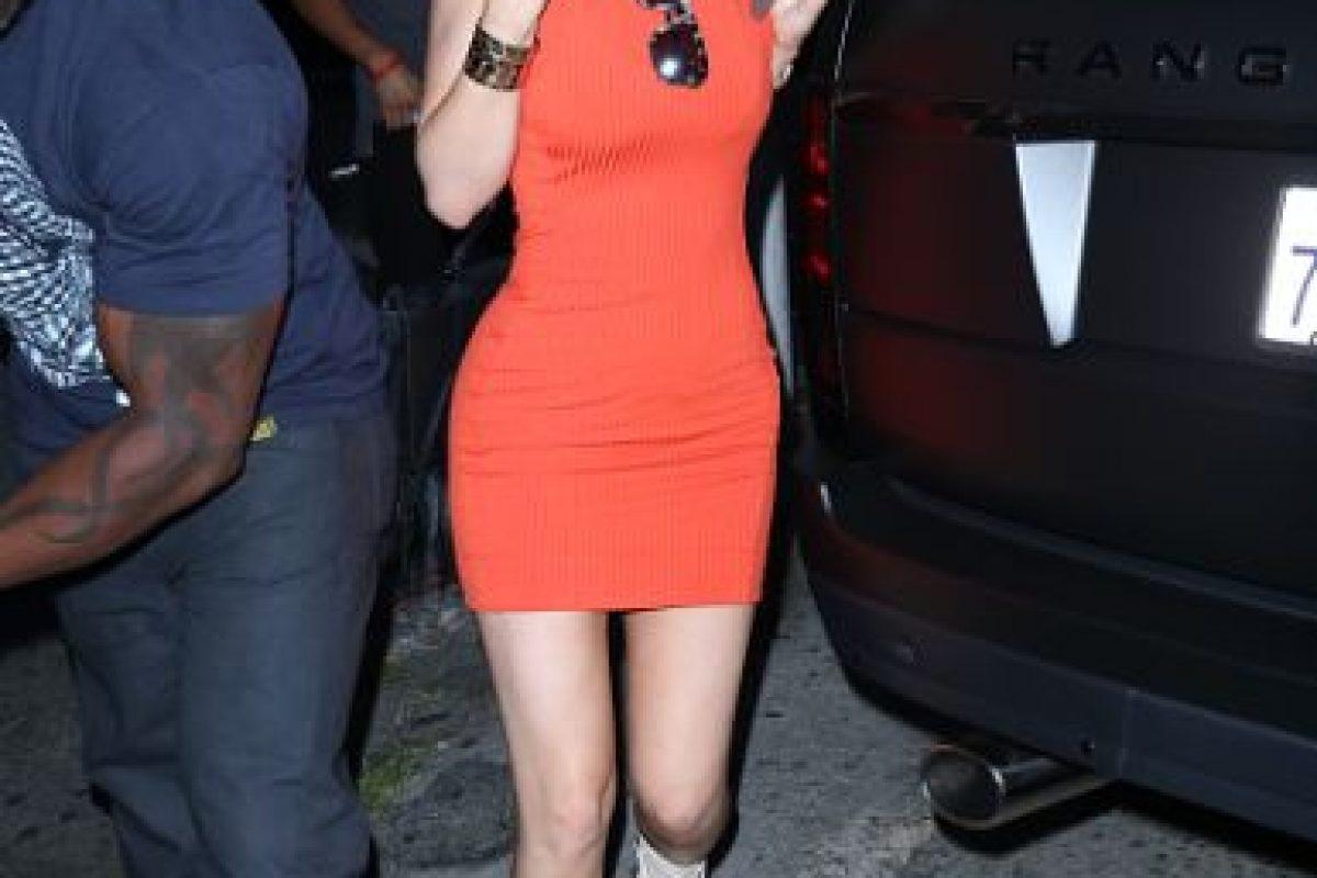 Kylie Jenner a veces tiene arranques propios de su hermana, Kim Kardashian, sobre todo con siluetas ultra sexies. Foto:vía Getty Images. Imagen Por:
