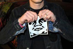 3. Fairey también creó el famoso cartel Obey. Foto:Getty Images. Imagen Por: