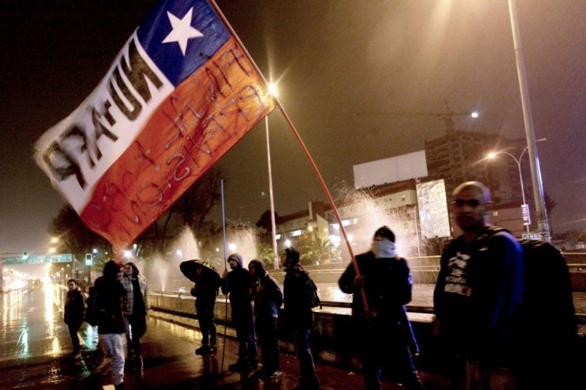 La capital de la Octava Región también vivió una jornada de moviliación Foto:Agencia Uno. Imagen Por: