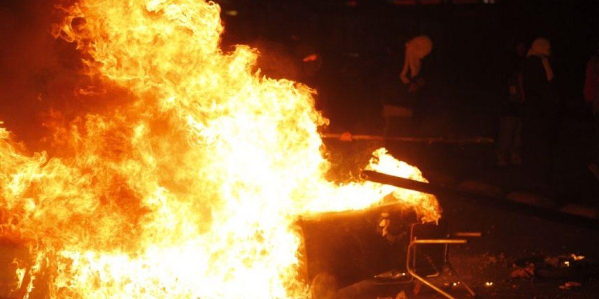 Marcha estudiantil: desórdenes en Santiago y regiones