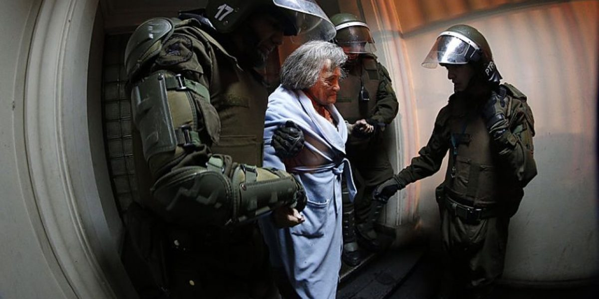 Esta es la abuelita que más sufrió por las marchas