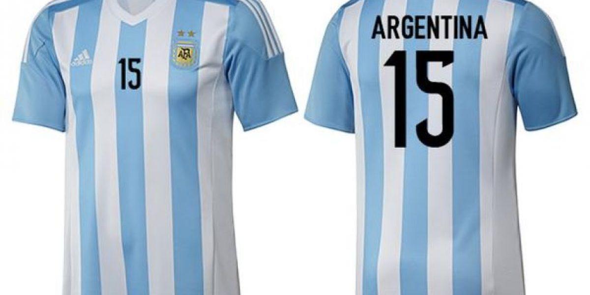 FOTOS: Las camisetas de los equipos en la Copa América 2015