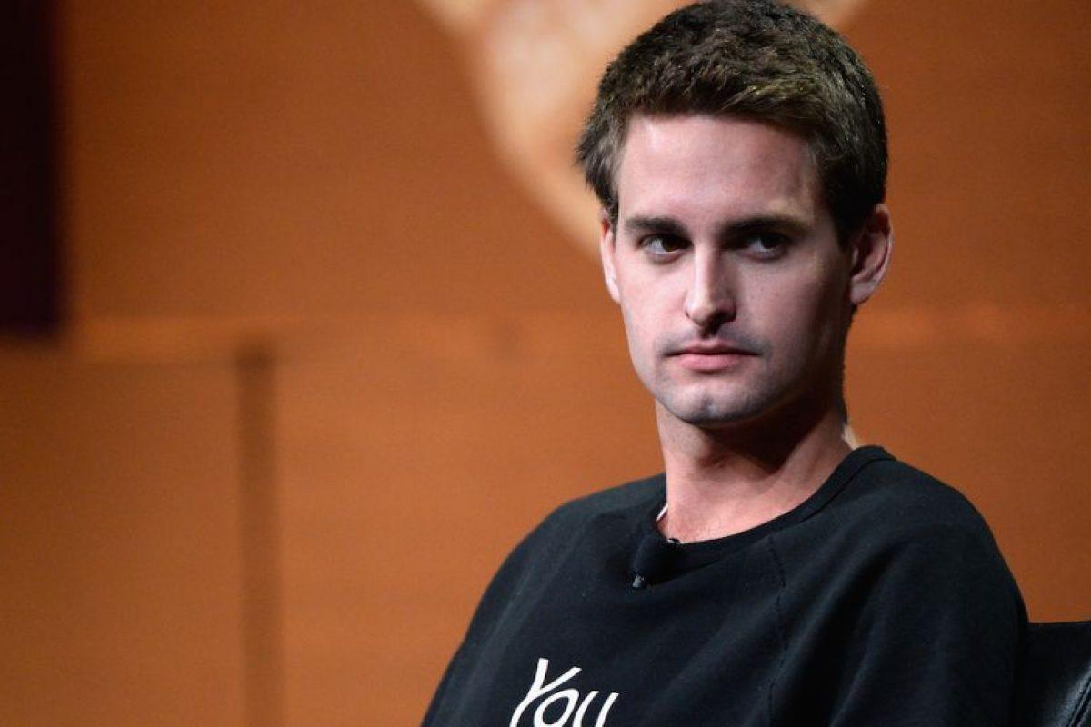 El estadounidense Evan Spiegel, de 24 años de edad, cofundó Snapchat, una app que permite enviar fotos que se autodestruyen en pocos segundos. Foto:Getty Images. Imagen Por: