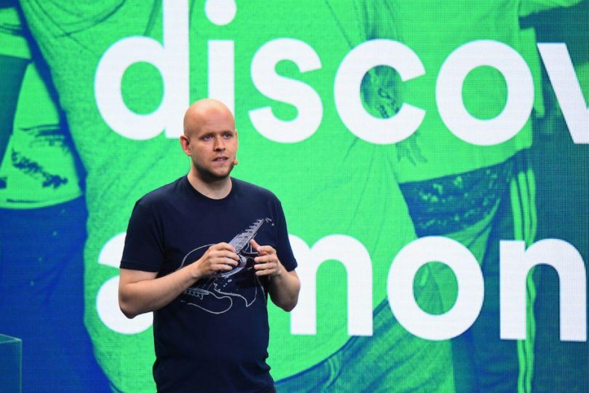 El sueco Daniel Ek, de 32 años de edad, cofundó en 2008 Spotify, el servicio que permite escuchar música en streaming. Foto:Getty Images. Imagen Por: