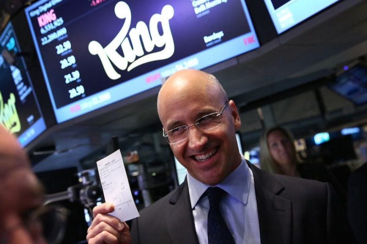 Riccardo Zacconi, de origen sueco, cofundó la compañía King, propietaria de Candy Crush, juego que tiene más de 150 millones de usuarios activos al mes. Foto:Getty Images. Imagen Por: