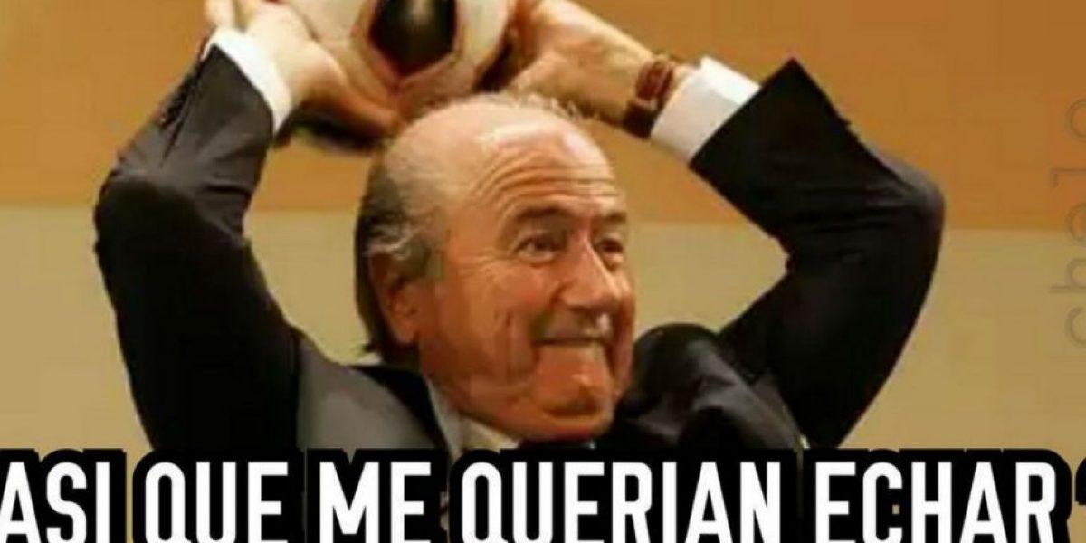 Así se burla Internet del nuevo mandato de Joseph Blatter en la FIFA