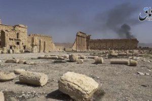 Como sucedió con las estatuas de la ciudad de Palmira Foto:AP. Imagen Por: