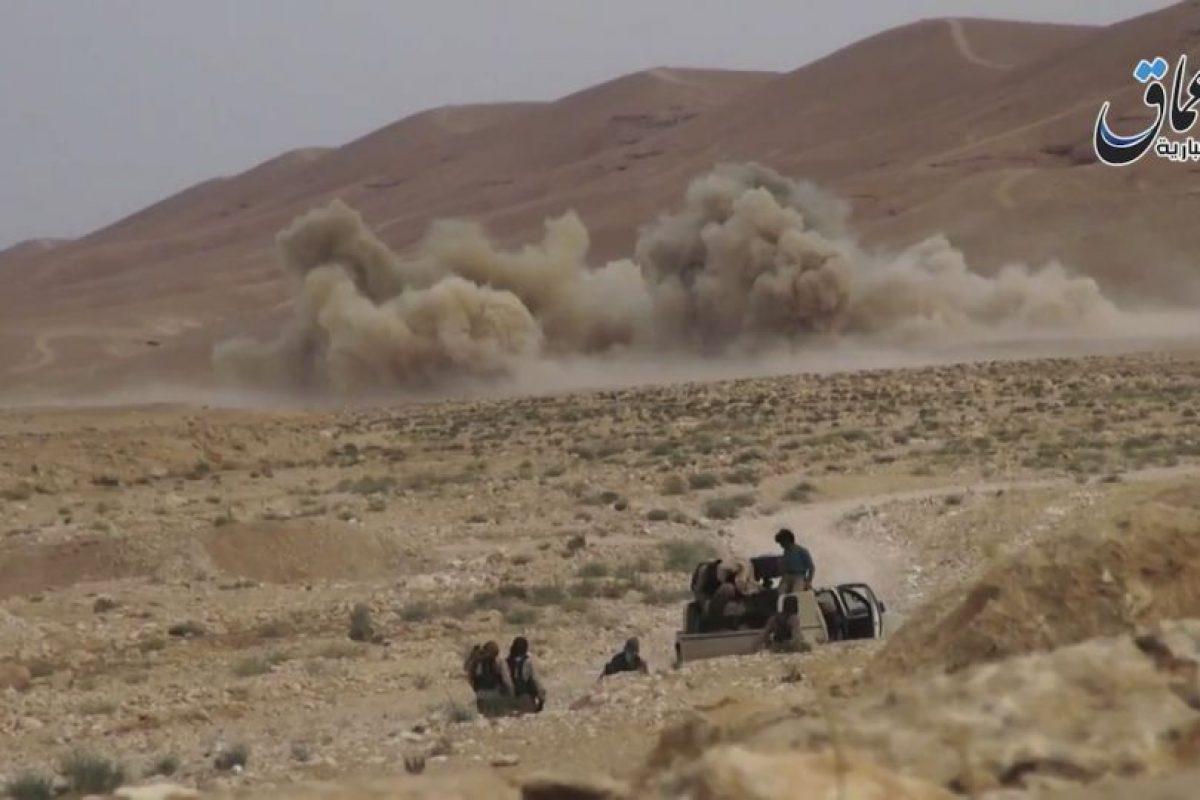 La cual se encuentra sitiada por ISIS Foto:AP. Imagen Por: