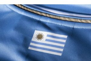 """""""La celeste"""" tampoco estrenará camiseta este año. Llevarán la misma que en Brasil 2014. Foto:Puma. Imagen Por:"""