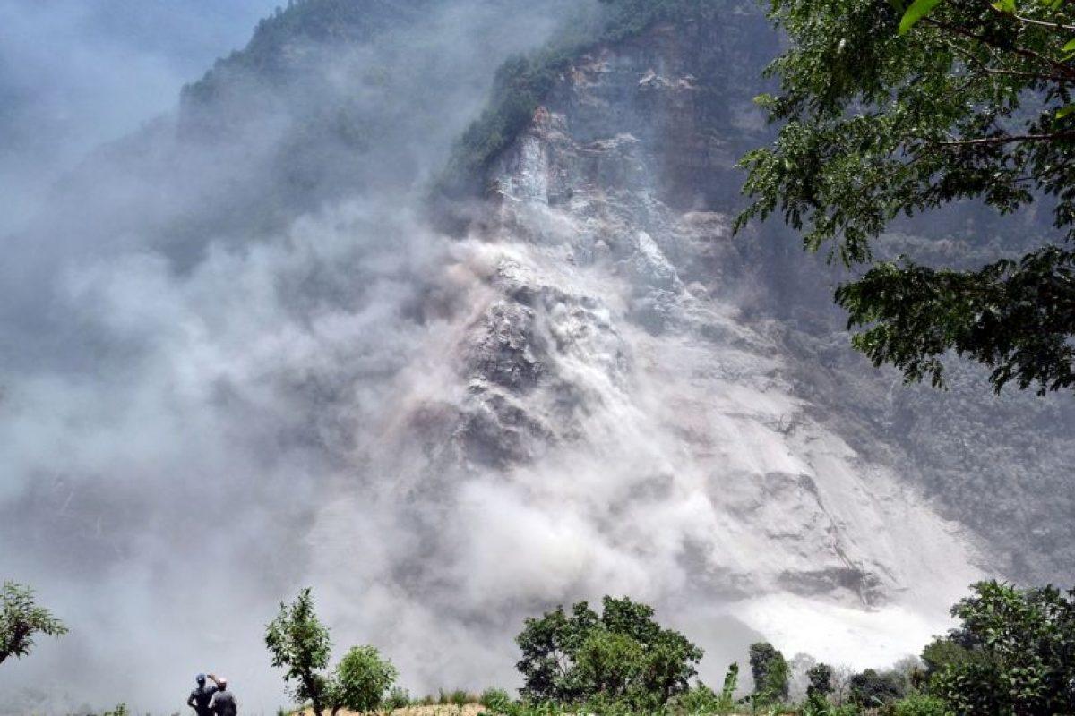 Paisaje en Nepal Foto:AFP. Imagen Por: