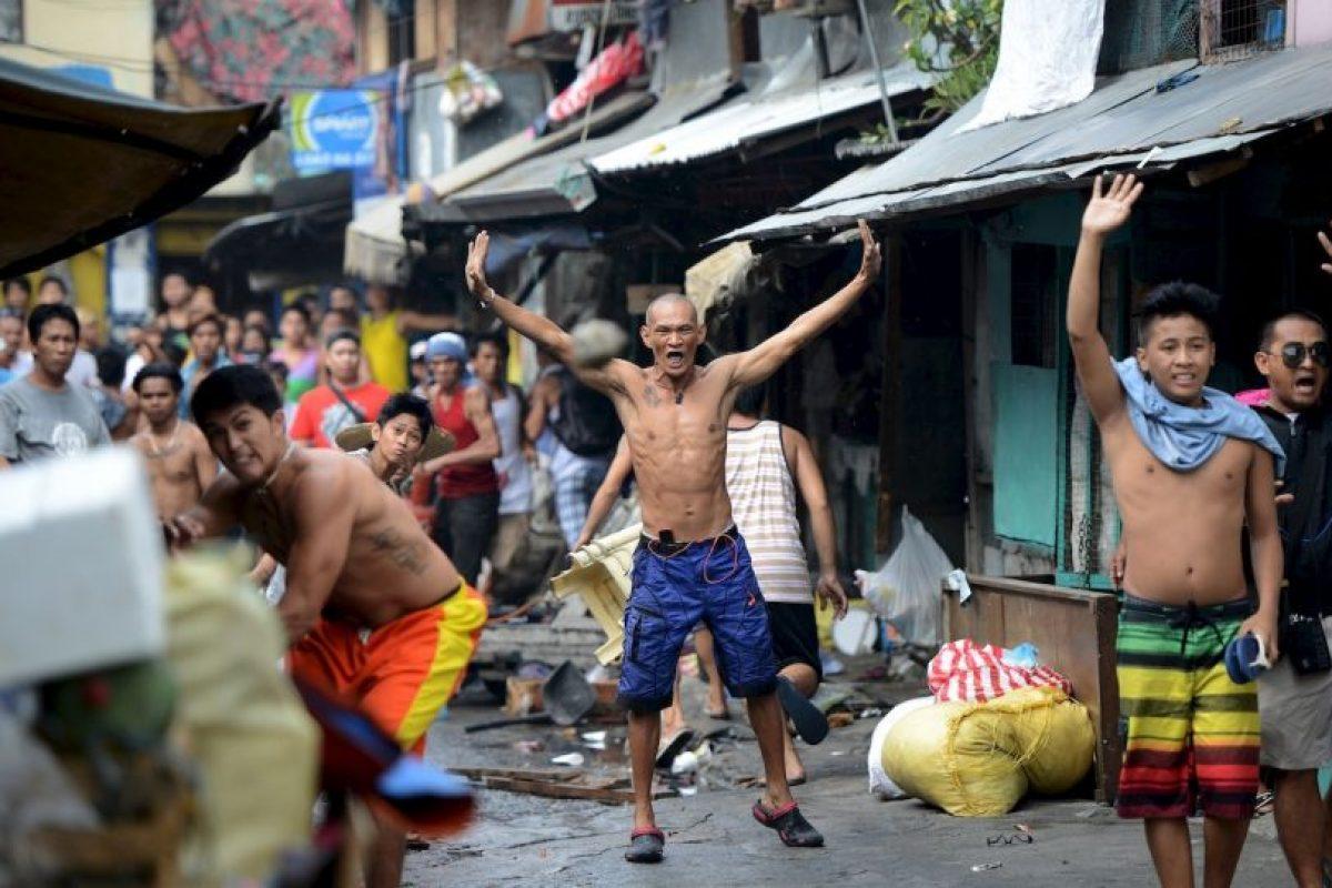 Filipinos protestan por la demolición de una comunidad de bajos recursos económicos. Foto:AFP. Imagen Por: