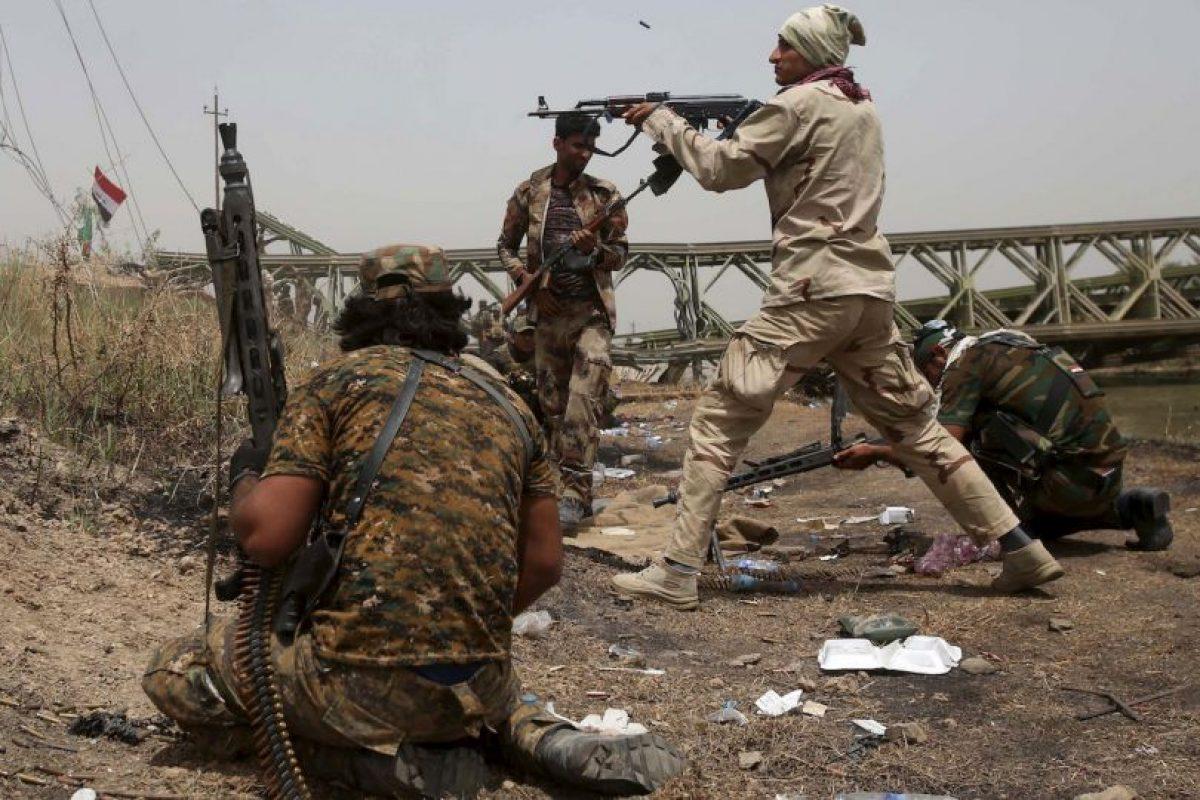Conflicto en Irak Foto:AFP. Imagen Por: