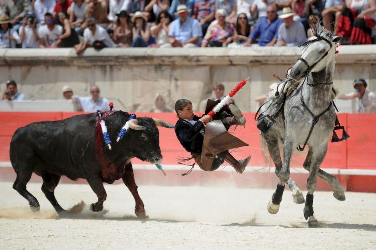 Feria de Pentecostés de Corrida de toros en Francia. Foto:AFP. Imagen Por: