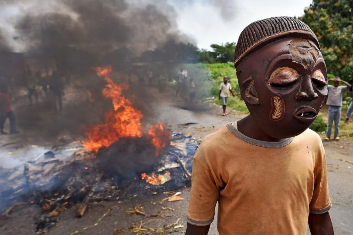 Protestas en Burundi. Foto:AFP. Imagen Por: