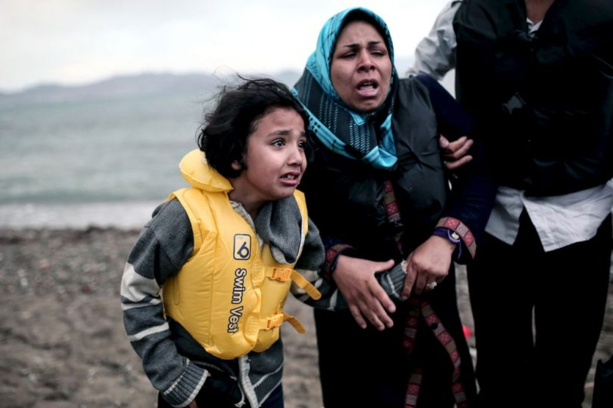 Inmigrantes en Grecia Foto:AFP. Imagen Por: