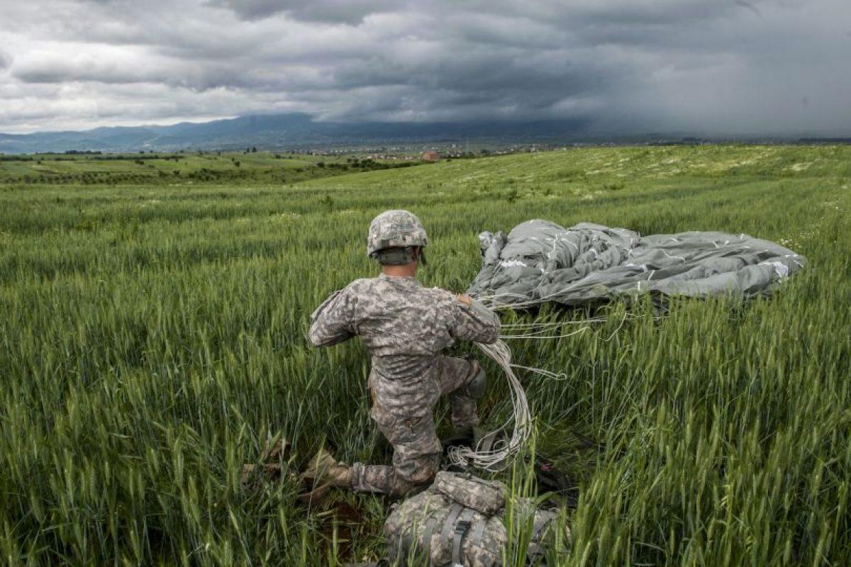 Militar estadounidense en Kosovo Foto:AFP. Imagen Por: