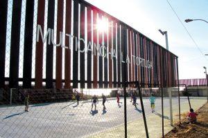Multicancha La Tortuga, Valparaíso. Imagen Por: