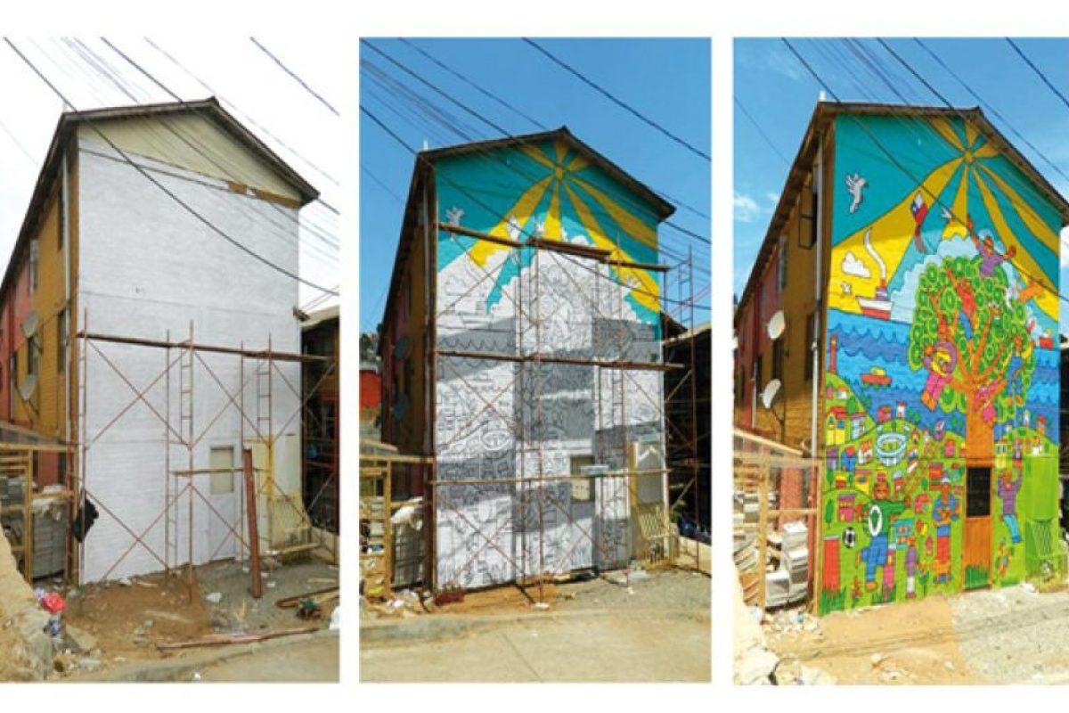 Museo A Cielo Abierto, Valparaíso. Imagen Por: