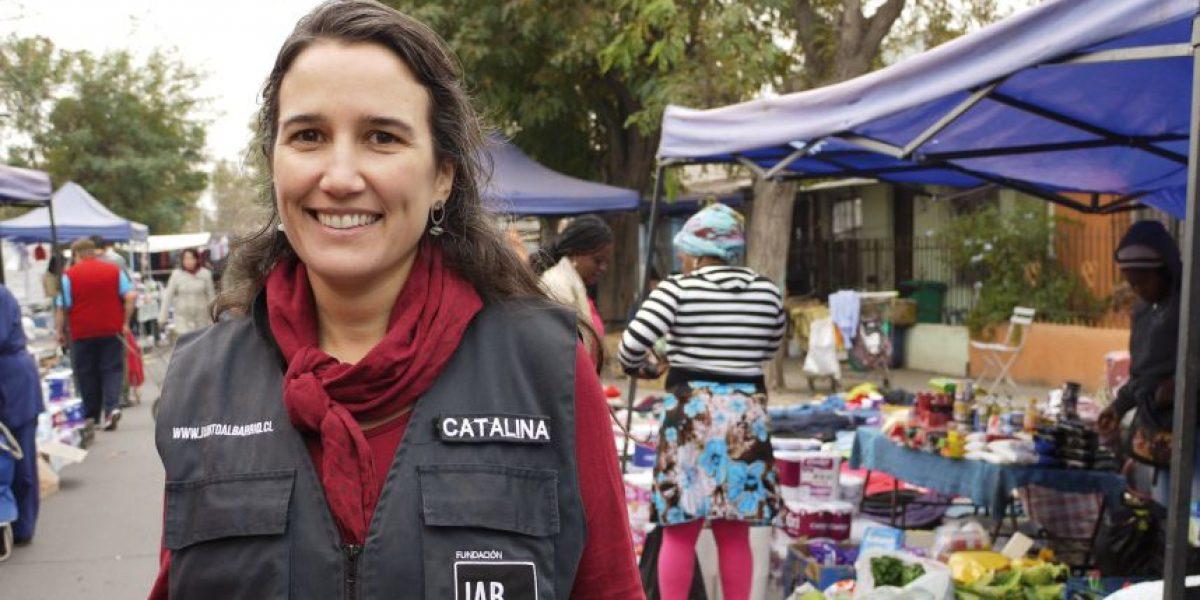 """Catalina Justiniano, de Fundación Junto al Barrio: """"El proceso no termina nunca"""""""