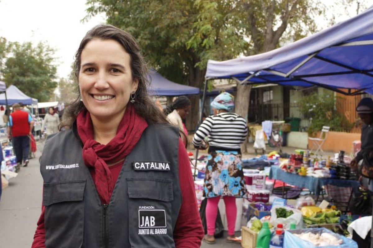 Catalina Justiniano, directora ejecutiva Fundación Junto al Barrio. Imagen Por: