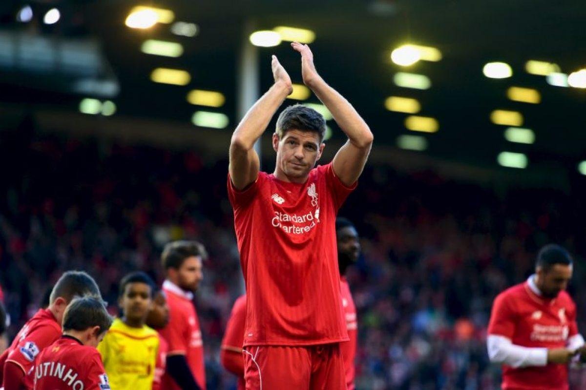 Steven Gerrard Foto:Getty Images. Imagen Por:
