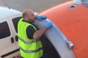 Sucedió en un vuelo de Easy Jet Foto:vía Twitter. Imagen Por: