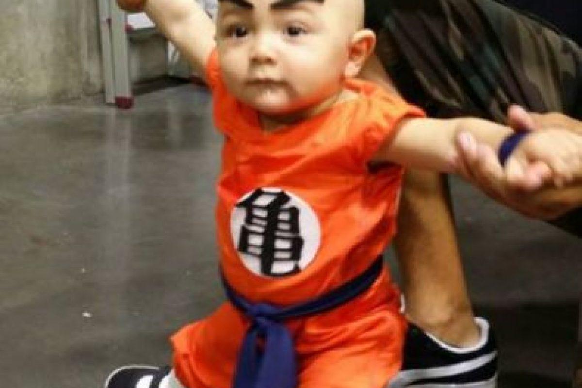 ¿Qué tal este bebé Krillin? Foto:vía Tumblr. Imagen Por: