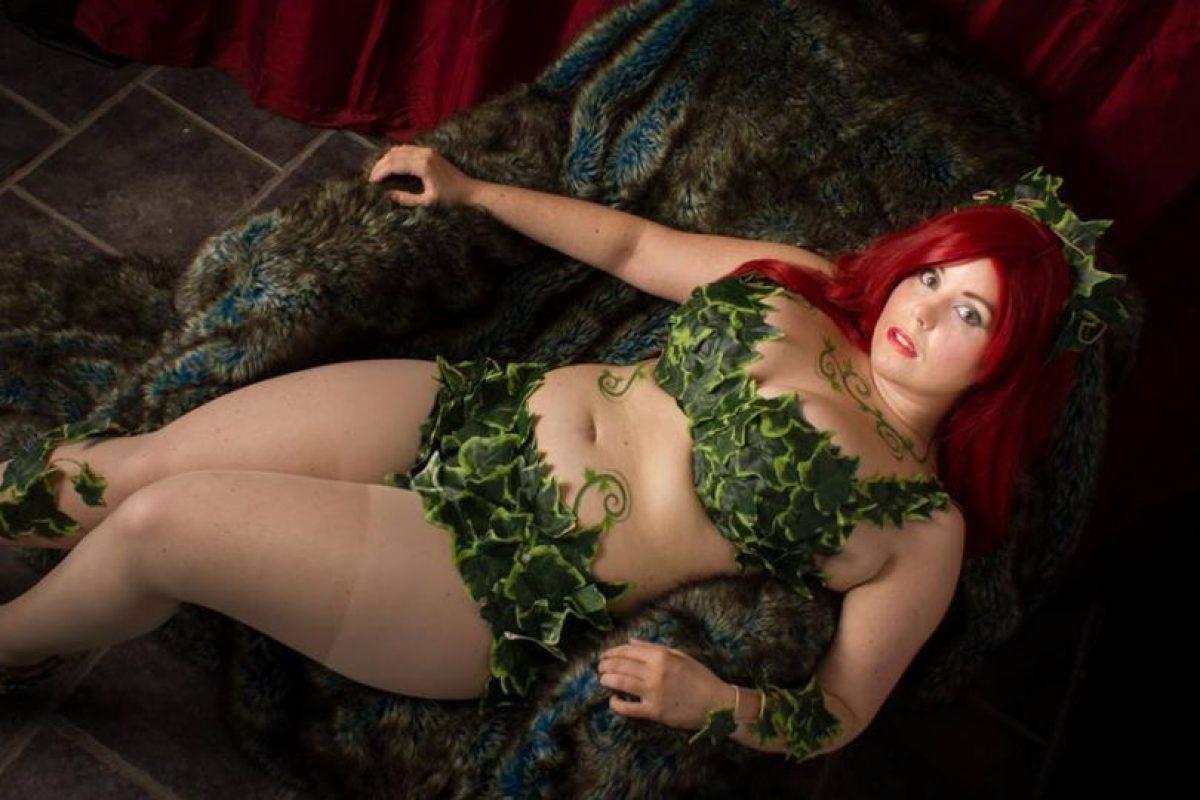 """Esta """"Poison Ivy"""". Foto:vía The Curvy Geek. Imagen Por:"""