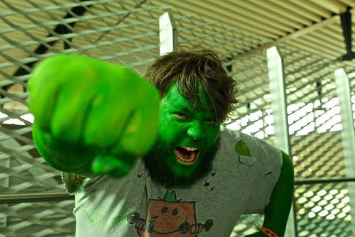 ¿Qué tal este hipster Hulk? Foto:vía The Curvy Geek. Imagen Por: