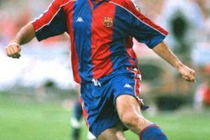 Jugó para el Barcelona de 1990 a 1995 y luego de 1996 a 1998. Foto:Getty Images. Imagen Por: