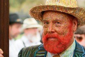 Van Gogh, pintado. Foto:vía GeekyFashion. Imagen Por: