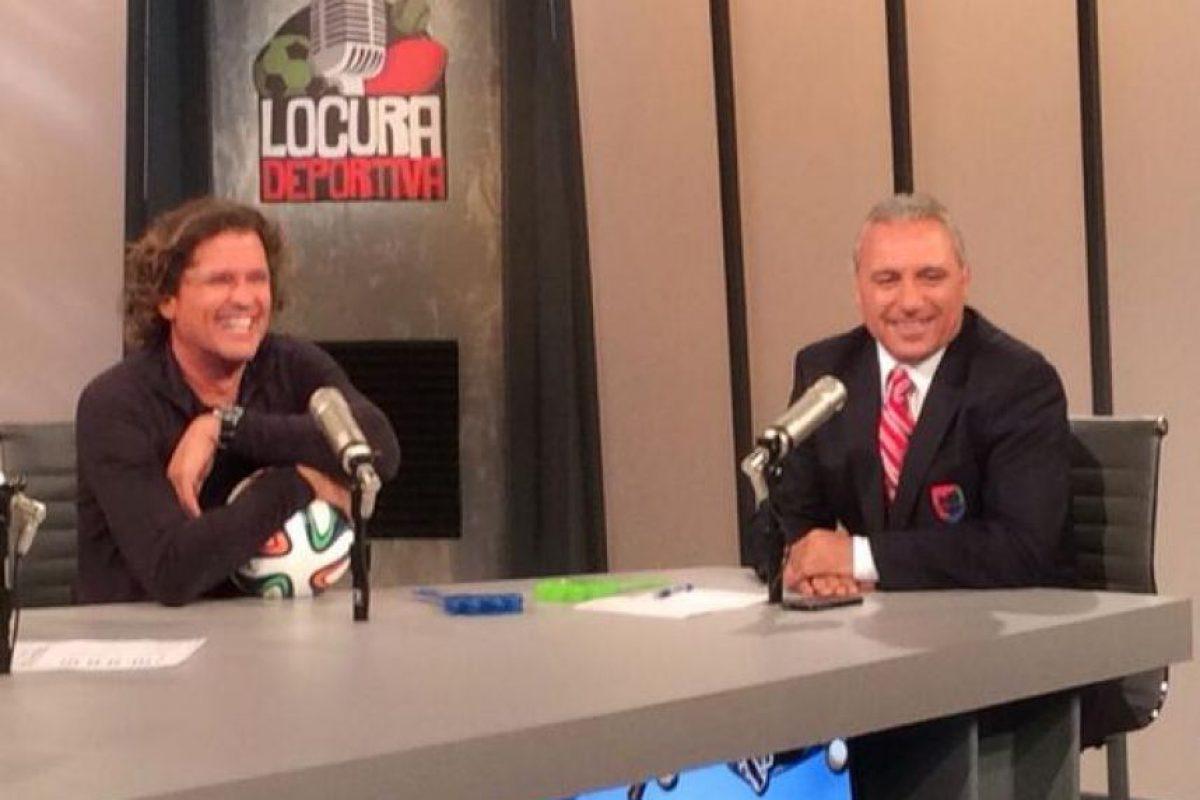 """El exfutbolista búlgaro es comentarista deportivo en el canal """"Univisión Deportes"""". Foto:Vía twitter.com/Hristo8Official. Imagen Por:"""