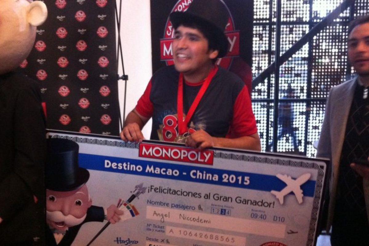 Ángel Niccodemi ganó la competencia por segundo año consecutivo. Foto:Victor Jaque. Imagen Por: