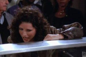 """Elaine: Este año Arabia Saudita lanzó los nombres que están prohibidos. Este era uno. Ya no podrán llamar a su hijo(a) como el personaje de """"Seinfeld"""". Foto:vía Tumblr. Imagen Por:"""