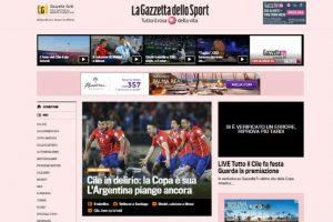 Foto:La Gazzetta dello Sport. Imagen Por: