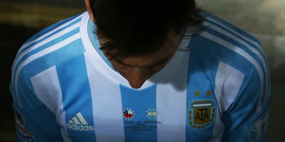 El sentido mensaje a Messi: