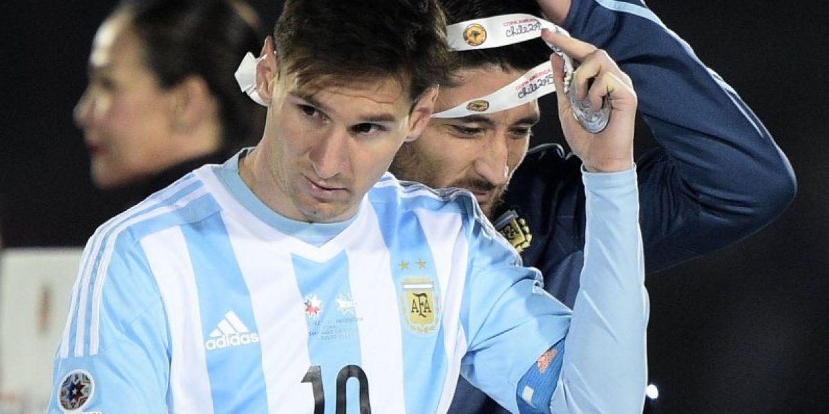 Así vivió Messi la tanda de penales ante Chile