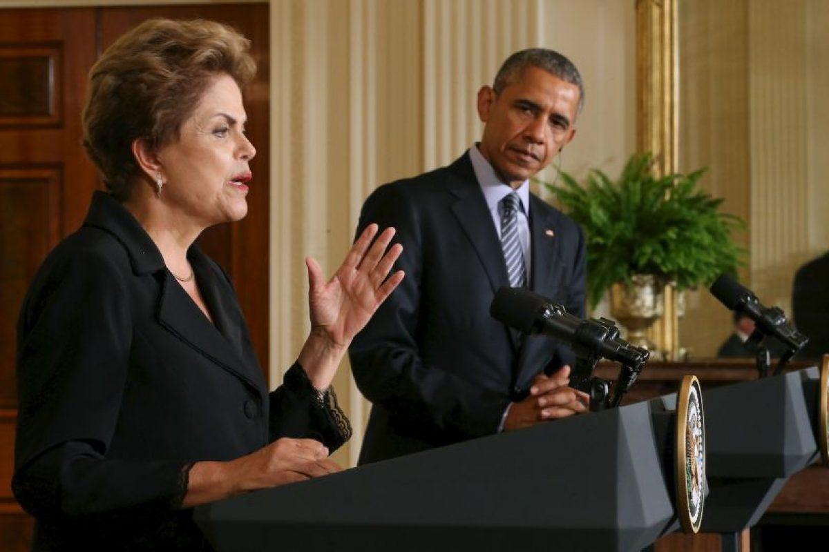 Ambos mandatarios había dejado atrás el tema. Foto:Getty Images. Imagen Por: