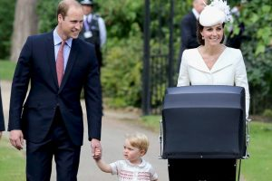Esta fue la primera vez que la familia completa aparecio en público. Foto:Getty Images. Imagen Por: