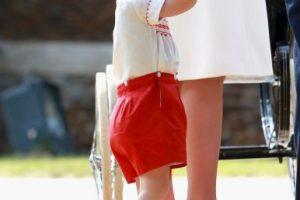 La princesa fue utilizó el mismo atuendo que su hermano para su bautizo. Foto:Getty Images. Imagen Por: