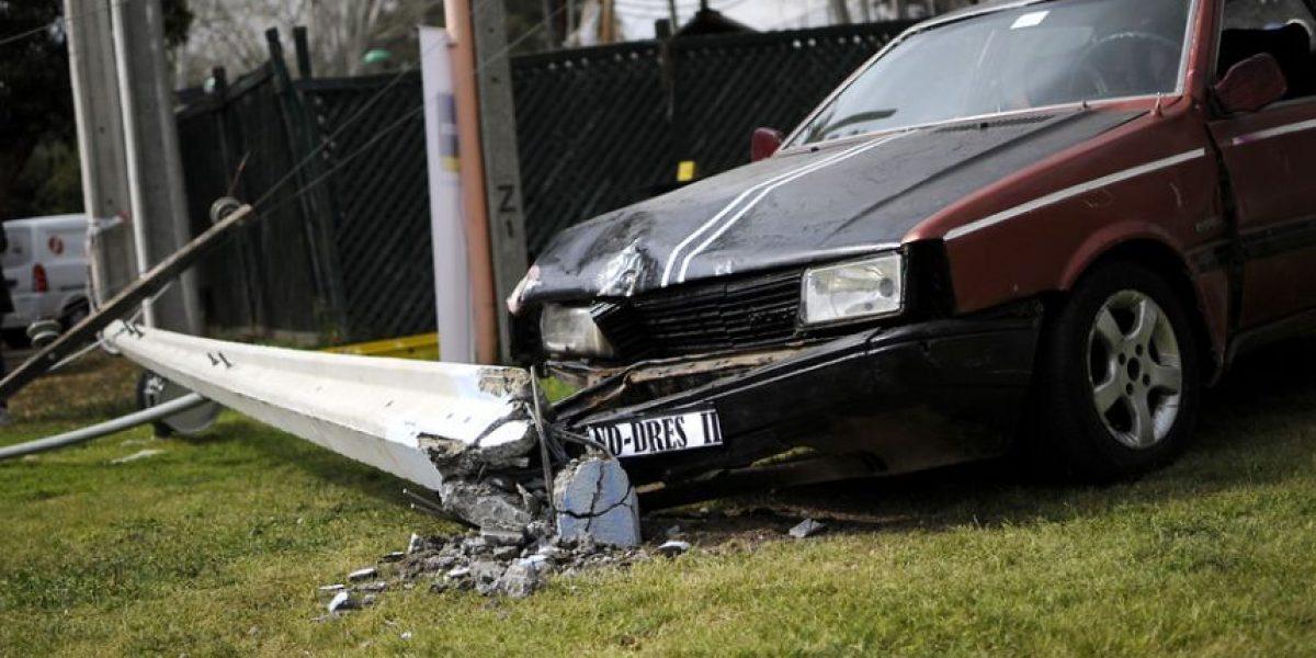 Joven de 16 años protagoniza accidente y fallece en Peñalolén