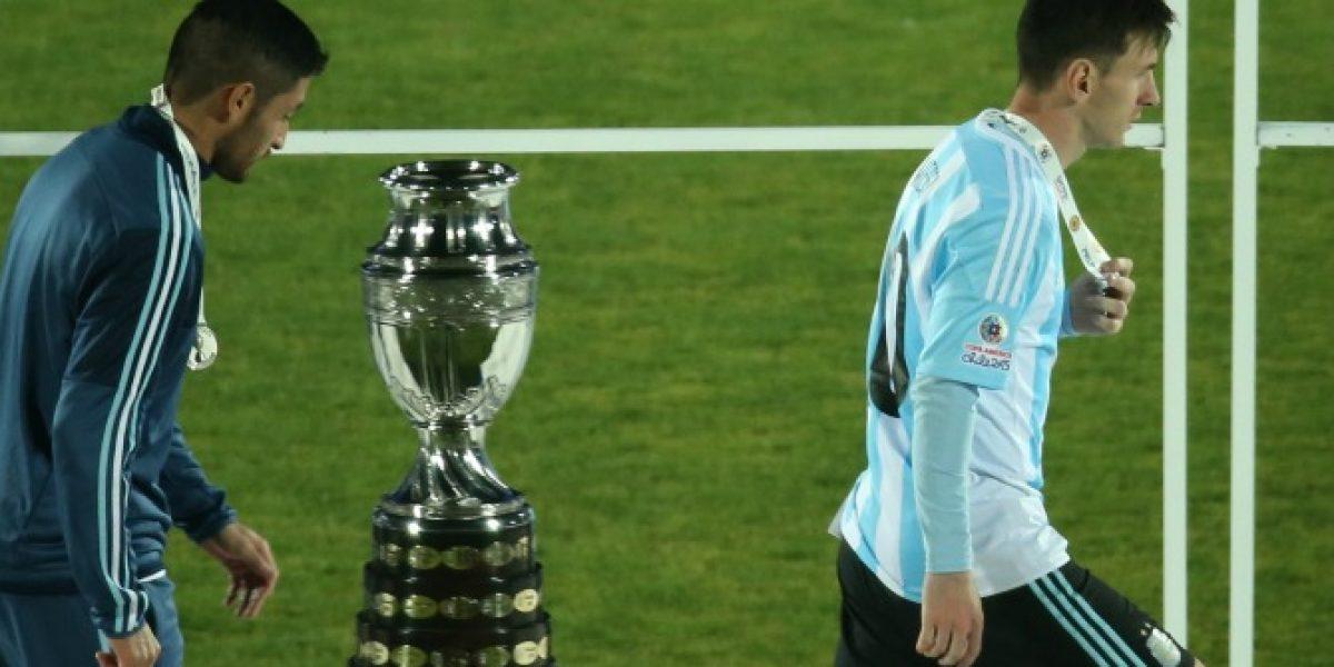 Messi sacó el habla: