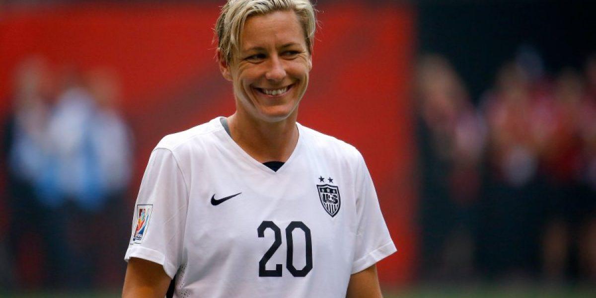 La celebración de futbolista gay de la Selección Femenina de Estados Unidos