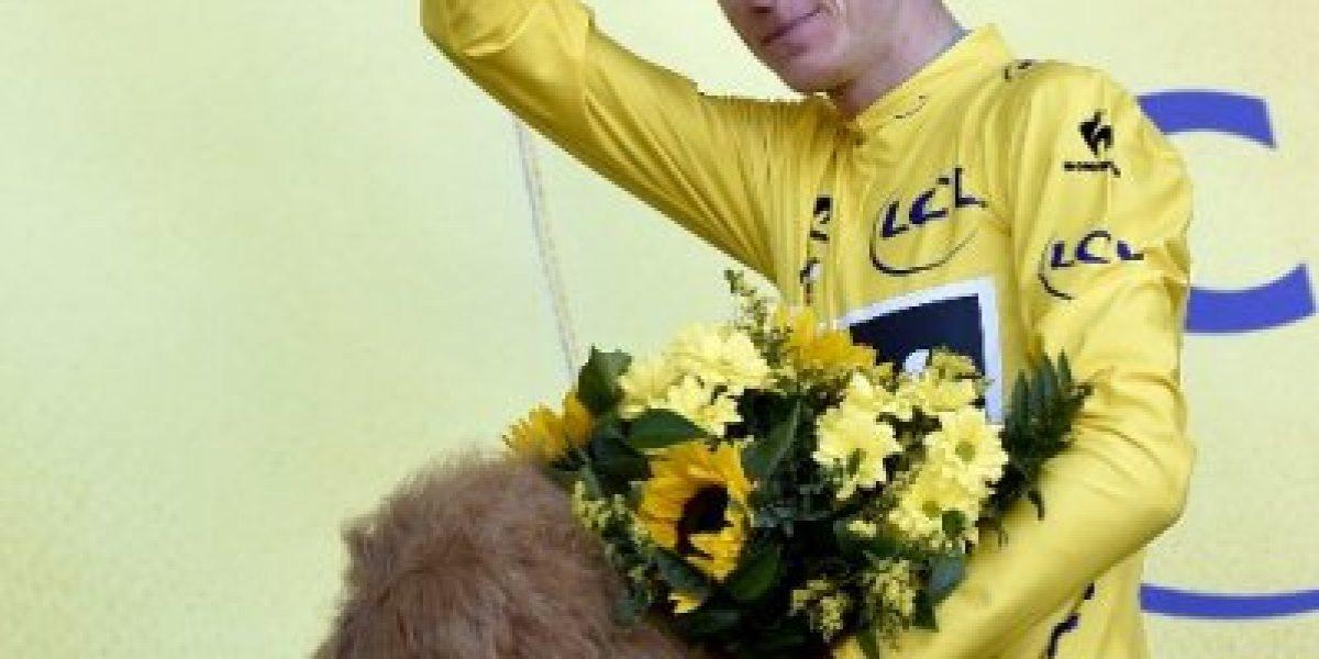 Tour de Francia: Froome toma el liderato tras la tercera etapa