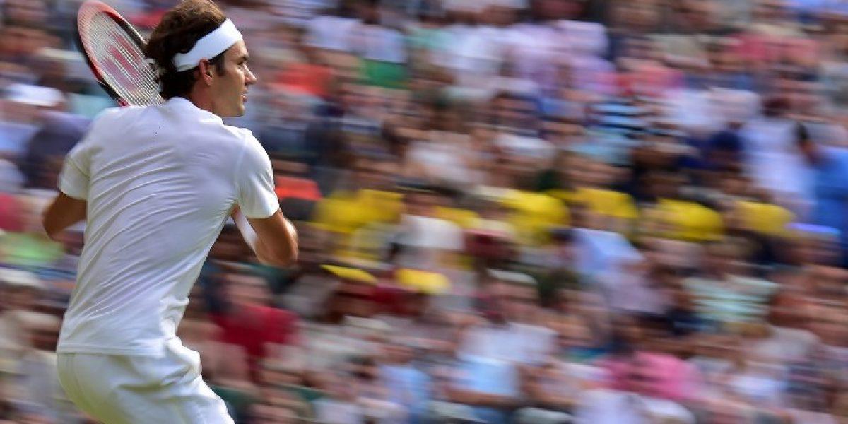 Wimbledon: Federer arrolla a Bautista y buscará el paso a semis ante el sorpresivo Simon