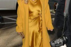 """Kim Kardashian: habló sobre las burlas de sus críticos con Marie Claire, diciendo """"puede ser que tenga un poco de celulitis. Puede ser que mi cuerpo no esté completamente tonificado. Puede ser que batalle con ciertas partes de mi cuerpo. Pero aceptarlo me da más poder"""". Foto:vía Getty Images. Imagen Por:"""
