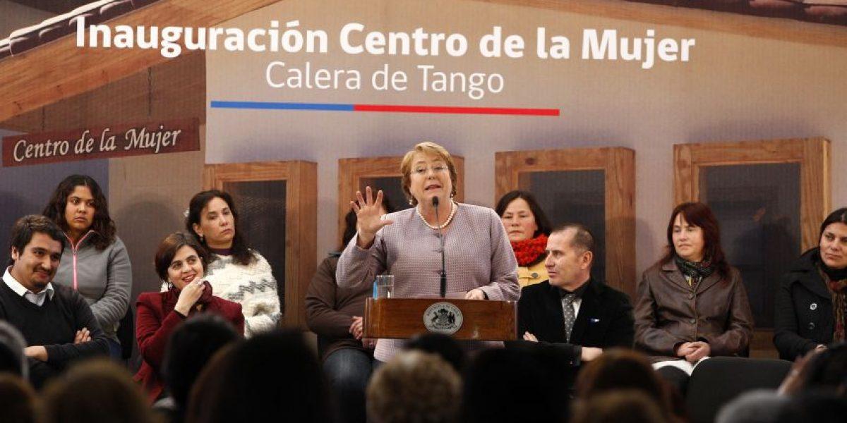 Presidenta: una de cada tres mujeres sufre violencia en su vida